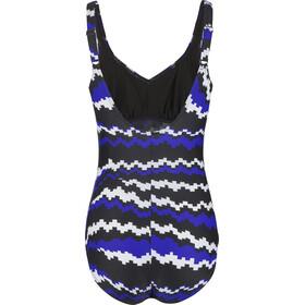 speedo Marlena Traje de Baño Mujer, black/blue